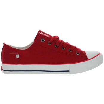 Skor Dam Sneakers Big Star DD274339 Röda