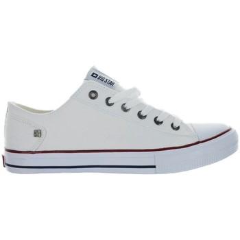 Skor Herr Sneakers Big Star DD174271 Vit