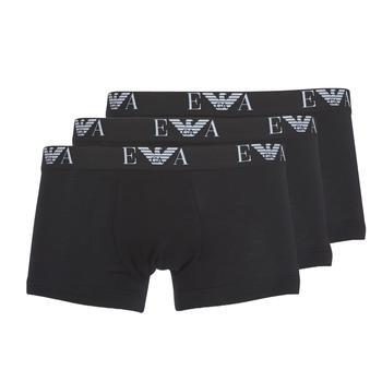 Underkläder  Herr Boxershorts Emporio Armani CC715-111357-21320 Svart