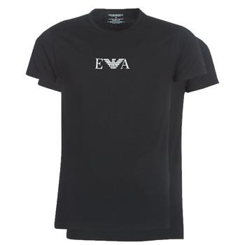 textil Herr T-shirts Emporio Armani CC715-111267-07320 Svart