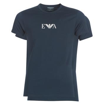 textil Herr T-shirts Emporio Armani CC715-111267-27435 Marin