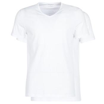 textil Herr T-shirts Emporio Armani CC722-111648-04710 Vit