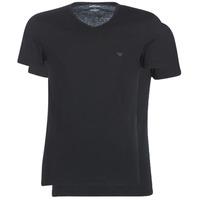 textil Herr T-shirts Emporio Armani CC722-111648-07320 Svart