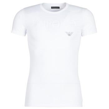 textil Herr T-shirts Emporio Armani CC716-111035-00010 Vit