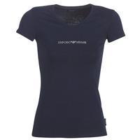 textil Dam T-shirts Emporio Armani CC317-163321-00135 Marin