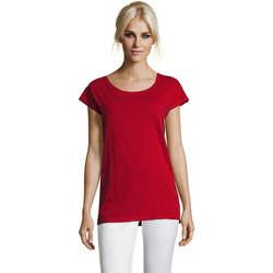 textil Dam T-shirts Sols MARYLIN STYLE KIMONO Rojo