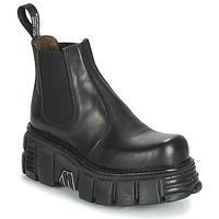 Skor Dam Boots New Rock M-1554-C1 Svart