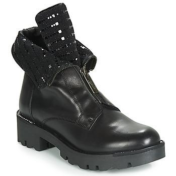 Skor Dam Boots Tosca Blu DIANE Svart