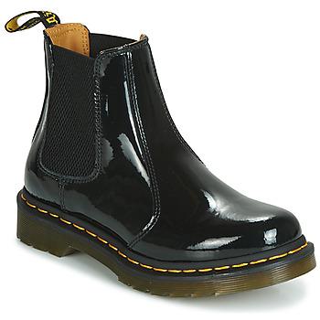 Skor Dam Boots Dr Martens 2976 PATENT LAMPER Svart
