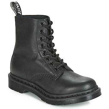 Skor Dam Boots Dr Martens 1460 PASCAL MONO Svart