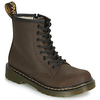 Skor Barn Boots Dr Martens 1460 SERENA JUNIOR Brun
