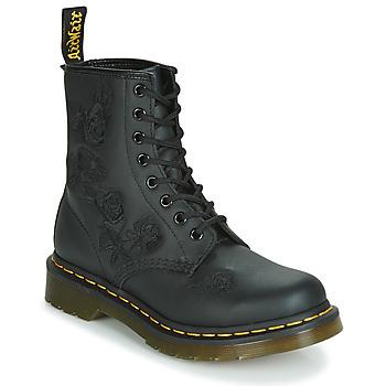 Skor Dam Boots Dr Martens 1460 VONDA MONO SOFTY T Svart