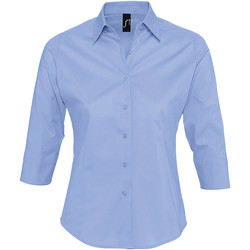 textil Dam Skjortor / Blusar Sols EFFECT ELEGANT Azul