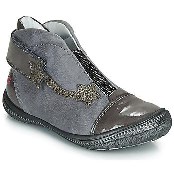Skor Flickor Boots GBB NOLWENN Grå / Silver