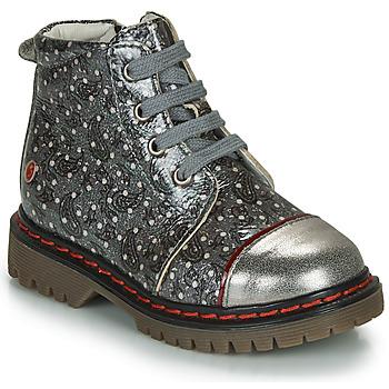 Skor Flickor Boots GBB NEVA Grå / Metallfärg