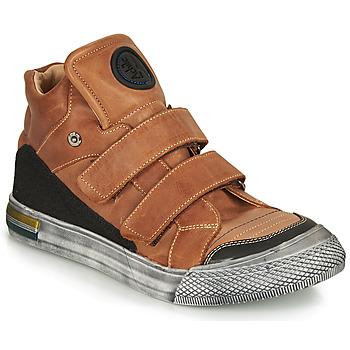 Skor Pojkar Höga sneakers Achile HUGO Brun