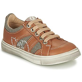 Skor Pojkar Sneakers GBB PALMYRE Cognac
