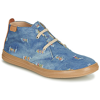 Skor Flickor Höga sneakers Achile ANDREA Blå