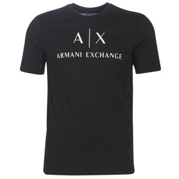textil Herr T-shirts Armani Exchange 8NZTCJ-Z8H4Z-1200 Svart