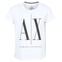 textil Dam T-shirts Armani Exchange 8NYTCX-YJG3Z-5102 Vit