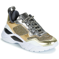 Skor Dam Sneakers Guess FURNER Silverfärgad / Guldfärgad