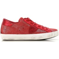 Skor Dam Sneakers Philippe Model CLLD XM89 rosso