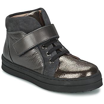 Skor Flickor Sneakers Unisa CALATA Grå / Svart