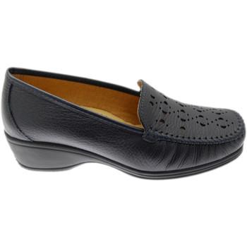 Skor Dam Loafers Calzaturificio Loren LOK4002bl blu