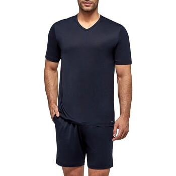 textil Herr Pyjamas/nattlinne Impetus Travel 4065F84 F86 Blå