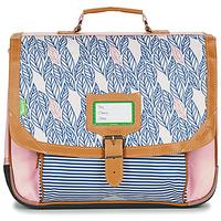 Väskor Flickor Skolväskor Tann's CREATION FLORE CARTABLE 38 CM Rosa
