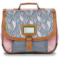 Väskor Flickor Skolväskor Tann's CREATION FLORE CARTABLE 35 CM Rosa