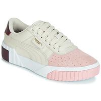 Skor Dam Sneakers Puma CALI REMIX Vit / Rosa