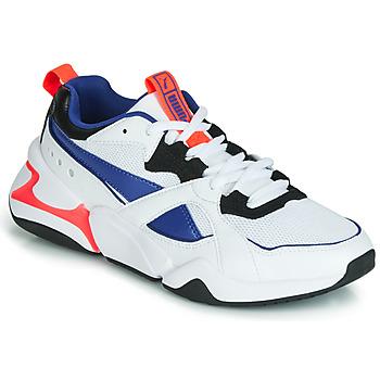 Skor Dam Sneakers Puma NOVA 2 Vit / Blå