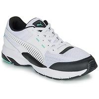 Skor Sneakers Puma FUTURE RUNNER PREMIUM Vit / Svart