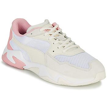 Skor Herr Sneakers Puma STORM ORIGIN PASTEL Vit