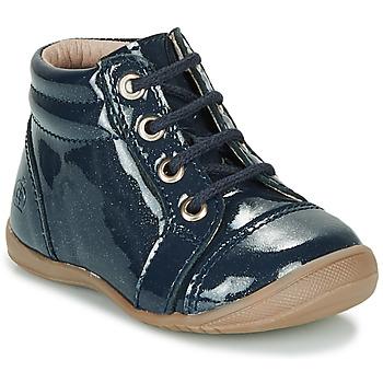 Skor Flickor Boots Citrouille et Compagnie NICOLE.C Marin / Paljett
