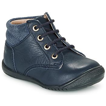 Skor Pojkar Boots Citrouille et Compagnie RATON.C Marin