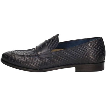 Skor Herr Loafers L'homme National 1012 Blue