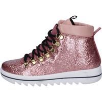 Skor Dam Sneakers Trepuntotre sneakers gomma pelle Rosa