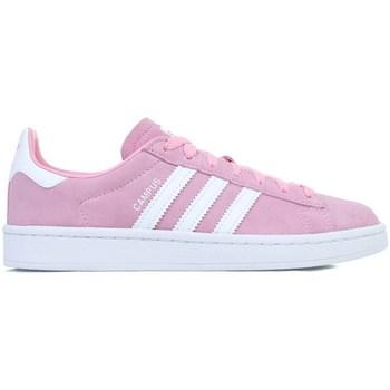 Skor Flickor Sneakers adidas Originals Campus J Vit,Rosa
