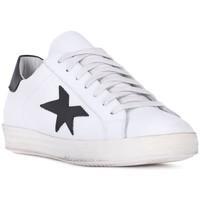 Skor Herr Sneakers At Go GO VITELLO BIANCO Bianco