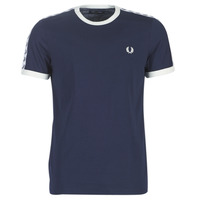 textil Herr T-shirts Fred Perry TAPED RINGER T-SHIRT Marin