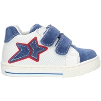 Skor Flickor Höga sneakers Balocchi 493265 Blue and white