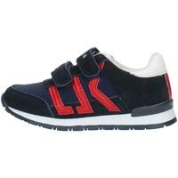 Skor Pojkar Sneakers Lumberjack SB47505 Blue and red
