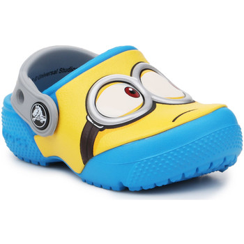 Skor Barn Träskor Crocs Crocsfunlab Minions Clog 204113-456 yellow, blue