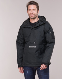 textil Herr Vindjackor Columbia CHALLENGER PULLOVER Svart