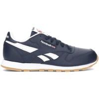 Skor Barn Sneakers Reebok Sport Classic Leather Vit, Grenade