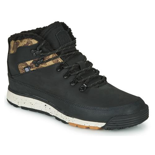 Skor Herr Boots Element DONNELLY Svart / Kamouflage