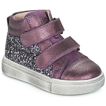 Skor Flickor Höga sneakers Acebo's 5299AV-LILA-C Violett