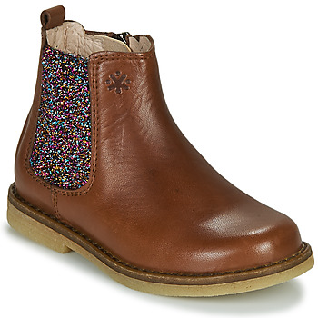 Skor Flickor Boots Acebo's 5274-CUERO-J Cognac